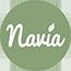 Prírodná kozmetika logo Navia